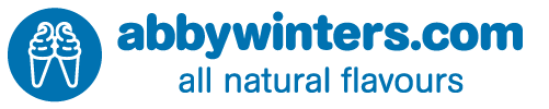 abbywinters.com all natural flavours logo